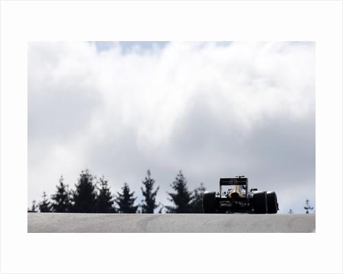 Cresting Eau Rouge, Heikki Kovalainen, Belgium by Glenn Dunbar