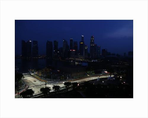 Chasing shadows, Vitaly Petrov, Singapore by Lorenzo Bellanca