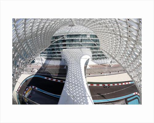 Riding high, Vitaly Petrov, Abu Dhabi by Steven Tee