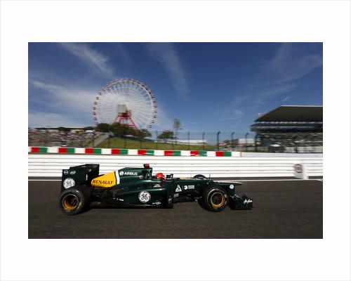 Wheels in motion, Heikki Kovalainen, Japan by Andrew Ferraro