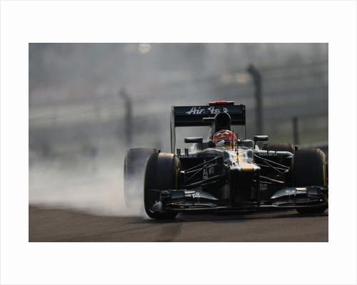 Smokin', Heikki Kovalainen, India by Glenn Dunbar
