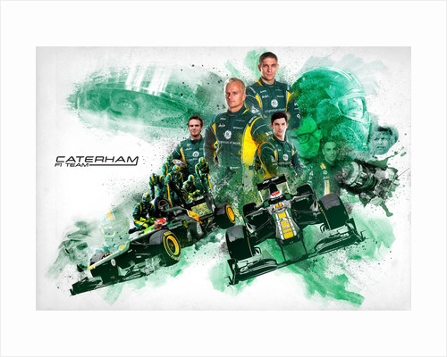 Caterham F1 Team by Jason Pooley