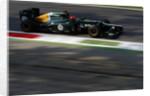 The shadows, Heikki Kovalainen, Italy by Glenn Dunbar