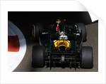 Light & shade, Heikki Kovalainen, Abu Dhabi by Lorenzo Bellanca