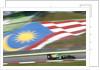 Flying the flag, Giedo van der Garde, Malaysia by Glenn Dunbar