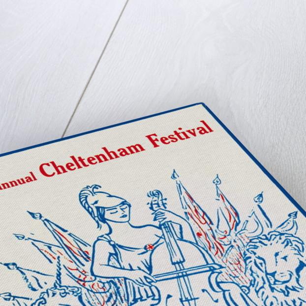 1953 Cheltenham Music Festival Programme Cover by Cheltenham Festivals