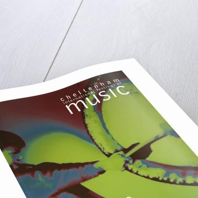 2001 Cheltenham Music Festival Programme Cover by Cheltenham Festivals