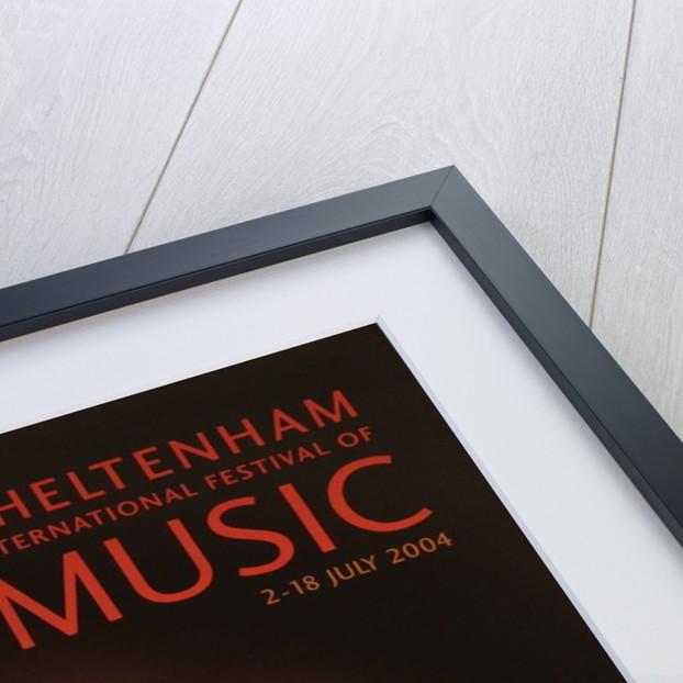 2004 Cheltenham Music Festival Programme Cover by Cheltenham Festivals