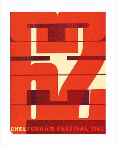 1962 Cheltenham Music Festival Programme Cover by Cheltenham Festivals