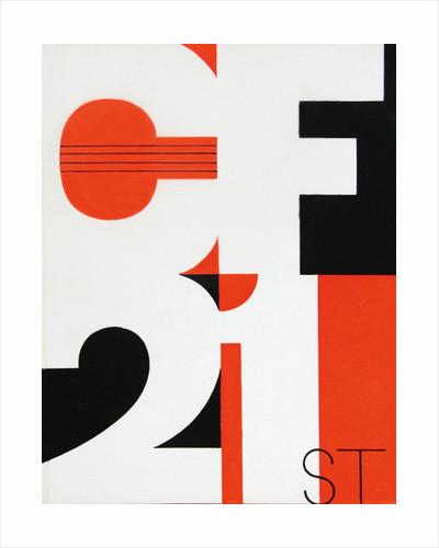 1965 Cheltenham Music Festival Programme Cover by Cheltenham Festivals