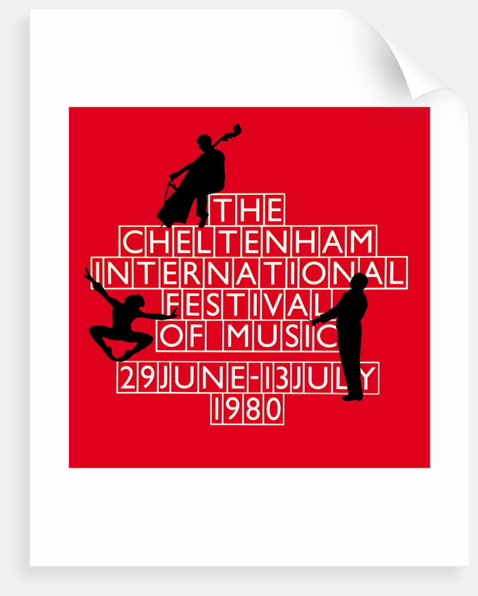 1980 Cheltenham Music Festival Programme Cover by Cheltenham Festivals