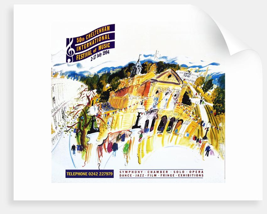 1994 Cheltenham Music Festival Programme Cover by Cheltenham Festivals