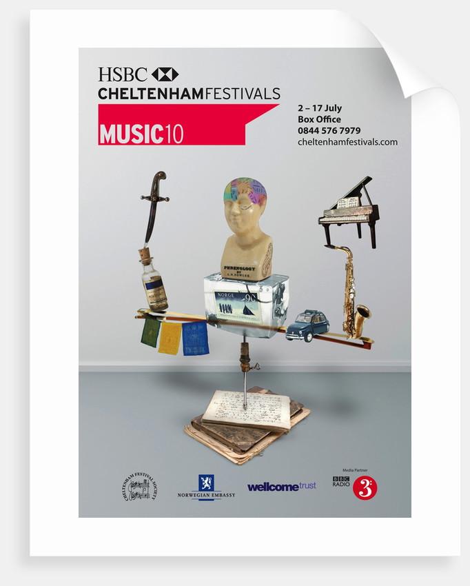2010 Cheltenham Music Festival Programme Cover by Cheltenham Festivals
