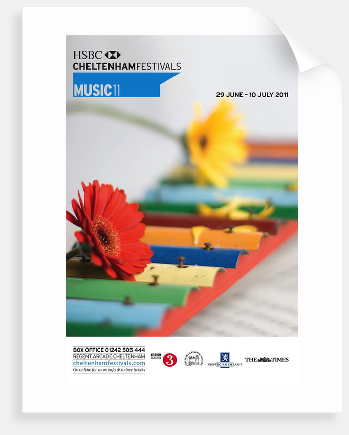 2011 Cheltenham Music Festival Programme Cover by Cheltenham Festivals