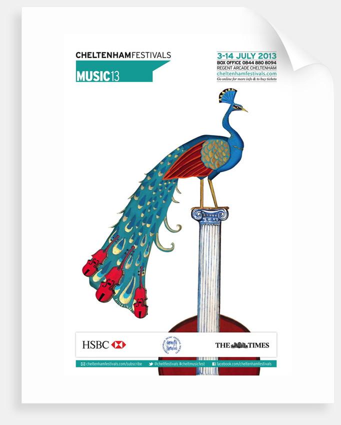 2013 Cheltenham Music Festival Programme Cover by Cheltenham Festivals