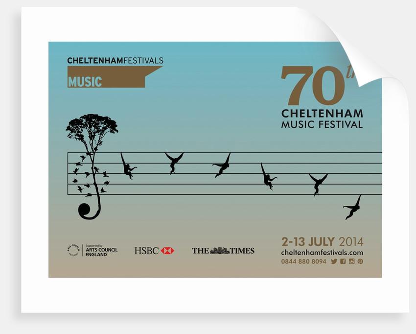 2014 Cheltenham Music Festival Programme Cover by Cheltenham Festivals