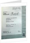 1946 Cheltenham Music Festival Programme Cover by Cheltenham Festivals