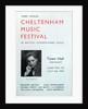 1947 Cheltenham Music Festival Programme Cover by Cheltenham Festivals