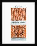 1951 Cheltenham Music Festival Programme Cover by Cheltenham Festivals