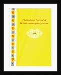 1954 Cheltenham Music Festival Programme Cover by Cheltenham Festivals