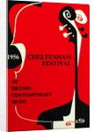 1956 Cheltenham Music Festival Programme Cover by Cheltenham Festivals