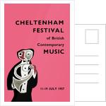 1957 Cheltenham Music Festival Programme Cover by Cheltenham Festivals