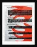 1959 Cheltenham Music Festival Programme Cover by Cheltenham Festivals