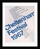 1967 Cheltenham Music Festival Programme Cover by Cheltenham Festivals