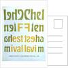 1968 Cheltenham Music Festival Programme Cover by Cheltenham Festivals