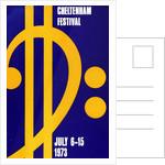 1973 Cheltenham Music Festival Programme Cover by Cheltenham Festivals