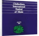1974 Cheltenham Music Festival Programme Cover by Cheltenham Festivals