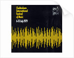 1979 Cheltenham Music Festival Programme Cover by Cheltenham Festivals