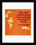 1983 Cheltenham Music Festival Programme Cover by Cheltenham Festivals