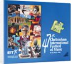 1991 Cheltenham Music Festival Programme Cover by Cheltenham Festivals