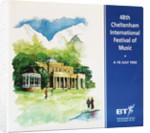 1992 Cheltenham Music Festival Programme Cover by Cheltenham Festivals