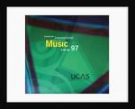 1997 Cheltenham Music Festival Programme Cover by Cheltenham Festivals