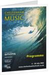 2003 Cheltenham Music Festival Programme Cover by Cheltenham Festivals