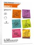 2008 Cheltenham Music Festival Programme Cover by Cheltenham Festivals