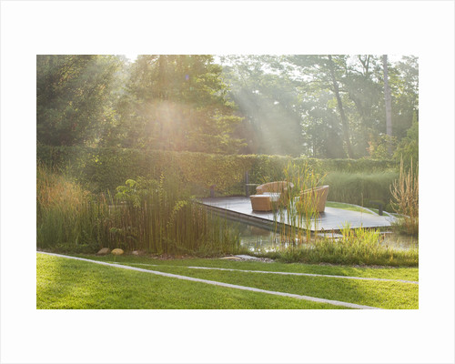 Private Garden Near Milan, Italy, Designed By Studio Gpt, Bergamo, Italy: Natural Swimming Pool Garden by Clive Nichols