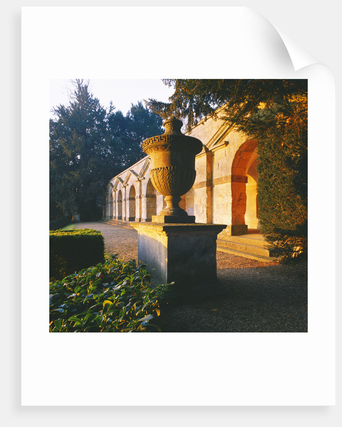 The 7 Arched Portico Called Praeneste After The Roman Temple At Palestrina. Rousham Landscape Garden, Oxfordshire by Clive Nichols
