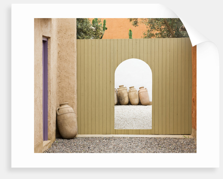 Designers Eric Ossart And Arnaud Maurieres, Morocco:  Al Hossoun by Clive Nichols