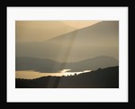 View To Albanian Mountains At Dawn From Gina Price's Corfu Garden. by Clive Nichols