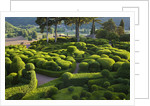 The Overhanging Gardens Of Marqueyssac, Perigord, France by Clive Nichols