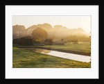 Waterperry Gardens, Oxfordshire: Mist Rises Off The Canal At Dawn by Clive Nichols