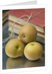 Apples - Malus 'egremont Russet' - Rhs London Autumn Harvest Show 2011. Styling By Jacky Hobbs by Clive Nichols