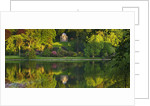 Stourhead Landscape Garden, Wiltshire: The National Trust. May 2012 - Panoramic Sunset View Across Lake With Reflections And Temple Of Apollo by Clive Nichols
