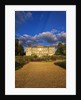 Ragley Hall Garden, Warwickshire: The Rose Garden And Hall In Evening Light by Clive Nichols