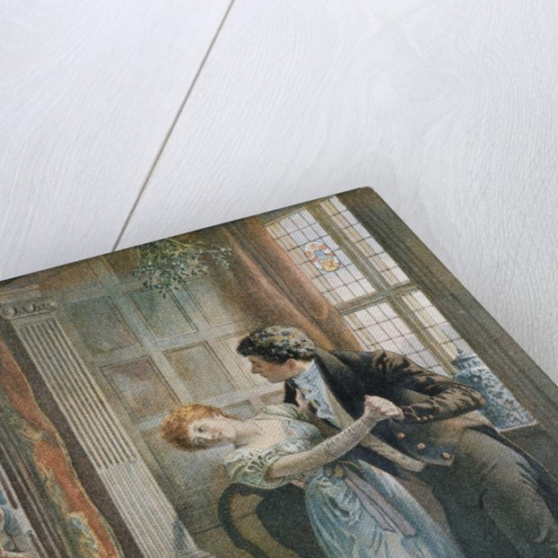 Under the Mistletoe by Edward Frederick Brewtnall