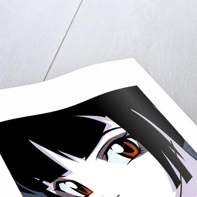 Anime Goth by Corbis