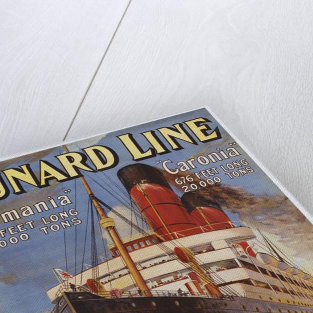 Cunard Line Poster by Corbis